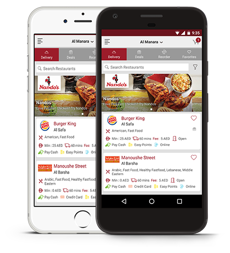 Online Food Delivery in Dubai, Order Food Online | EatEasy ae